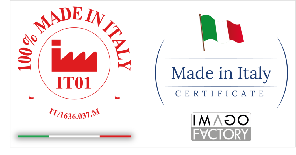 Imago Factory 100% made in italy